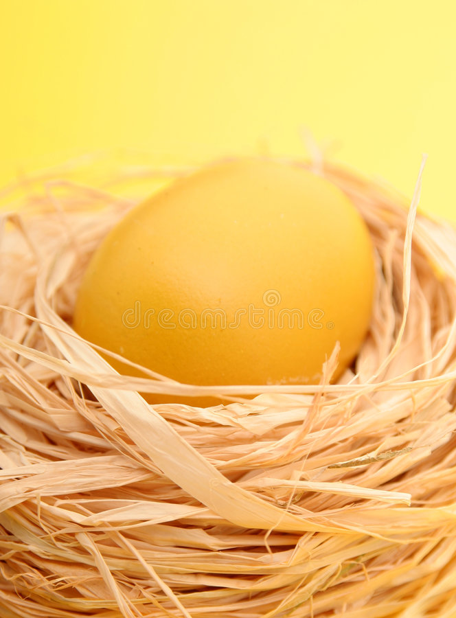 Download Nest stock image. Image of symbol, springtime, chicken - 521097