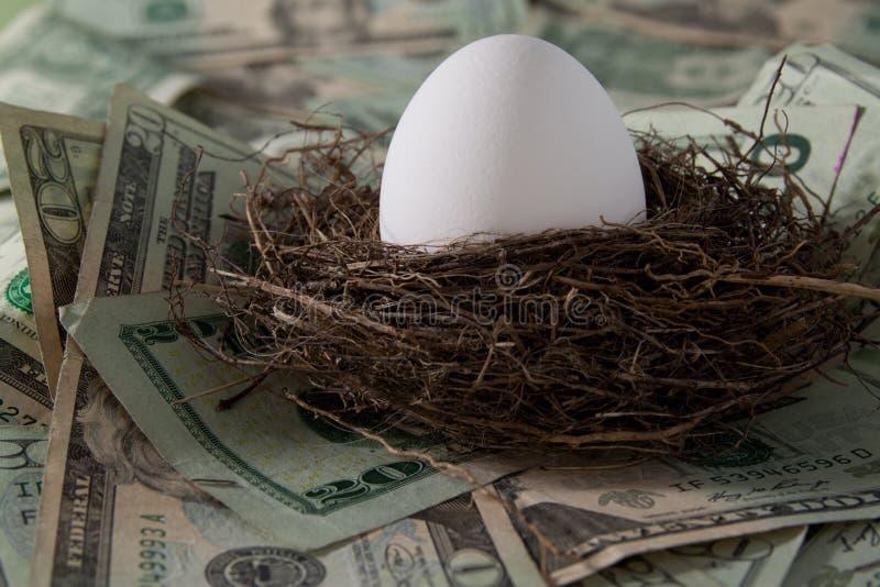 Nest Egg Stock Image