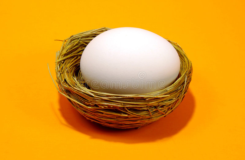 Download Nest Egg stock image. Image of hatch, orange, nest, easter - 78987