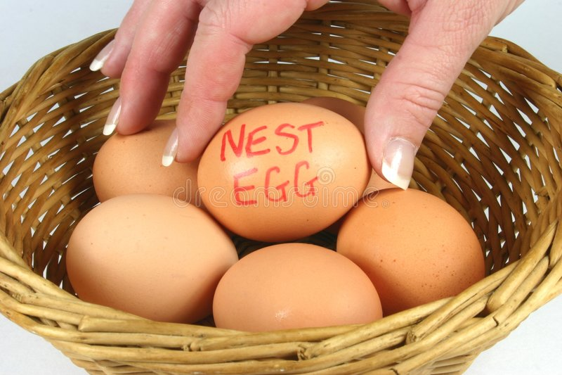 Download Nest Eggs Royalty Free Stock Photography - Image: 175937
