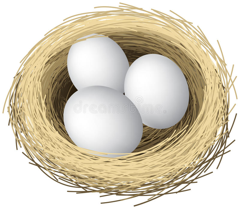 Download Nest Eggs Royalty Free Stock Photos - Image: 28090948