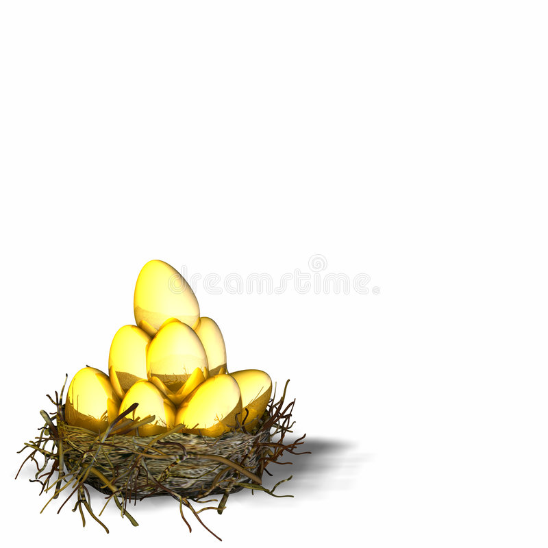 Free Nest Eggs 4 Stock Image - 485641
