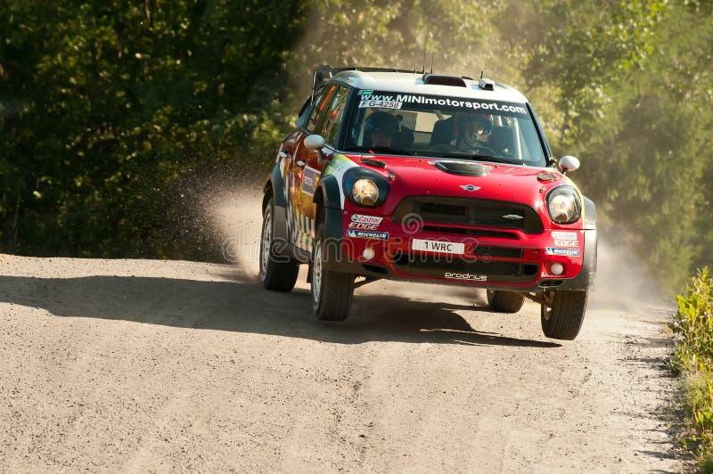 Neste Oil Rally Finland 2011 - Daniel Sordo royalty free stock photos