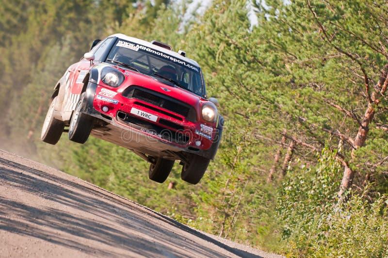 Neste Oil Rally Finland 2011 - Daniel Sordo royalty free stock photo