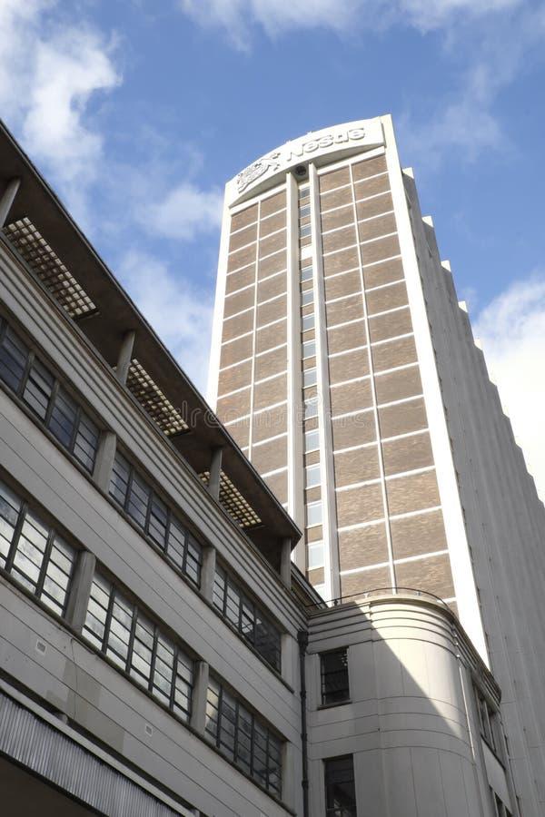 Nestle torn i Croydon UK royaltyfri fotografi