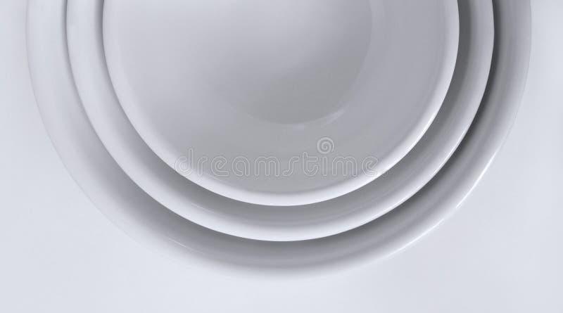 Download Nestled White Bowls stock image. Image of round, bowls - 20244913