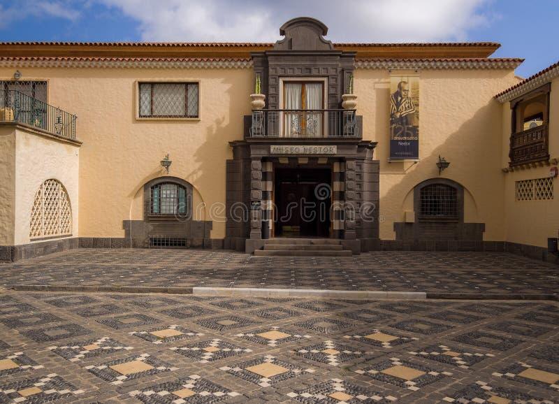Nestor Museum in Gran Canaria Spanje royalty-vrije stock foto