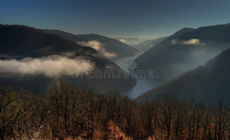 Nestos rzeka w Północnym Grecja zdjęcie stock