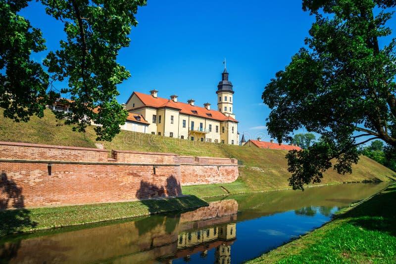 Nesvizh Castle, Belarus royalty free stock images
