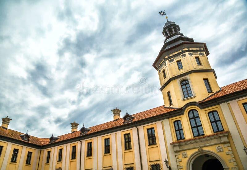 Nesvizh Castle, Belarus royalty free stock photography