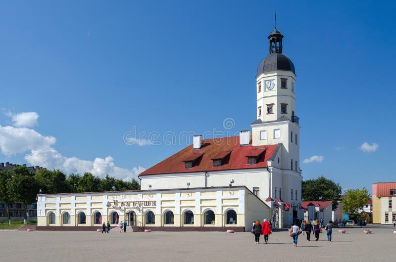 Nesvizh Columned Gebäude lizenzfreies stockbild