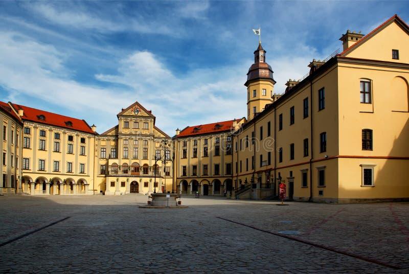 Nesvizh-Schloss in Weißrussland stockbilder