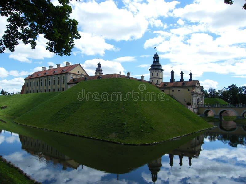 Nesvizh slott arkivbild