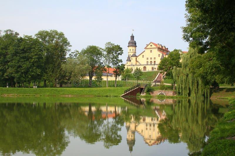 Nesvizh slott _ royaltyfria bilder