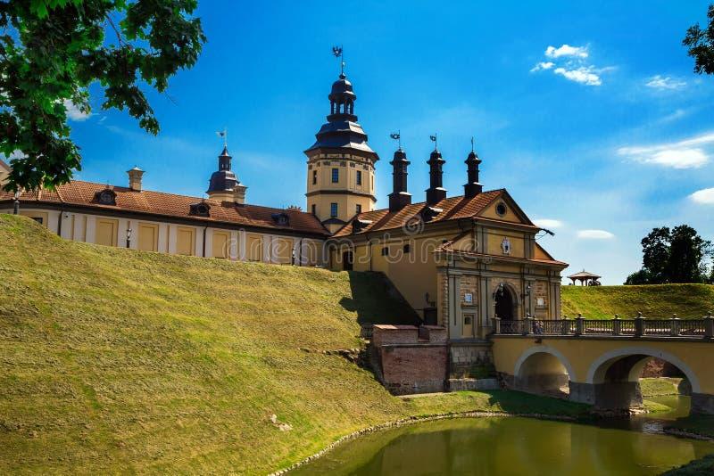 Nesvizh slott, Vitryssland royaltyfria foton