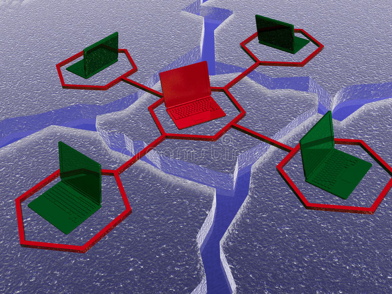 Download Net stock illustration. Image of internet, networked - 10530699