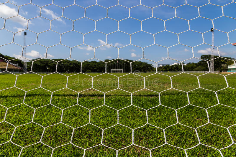 Download Net Goal. Stock Image - Image: 32523561