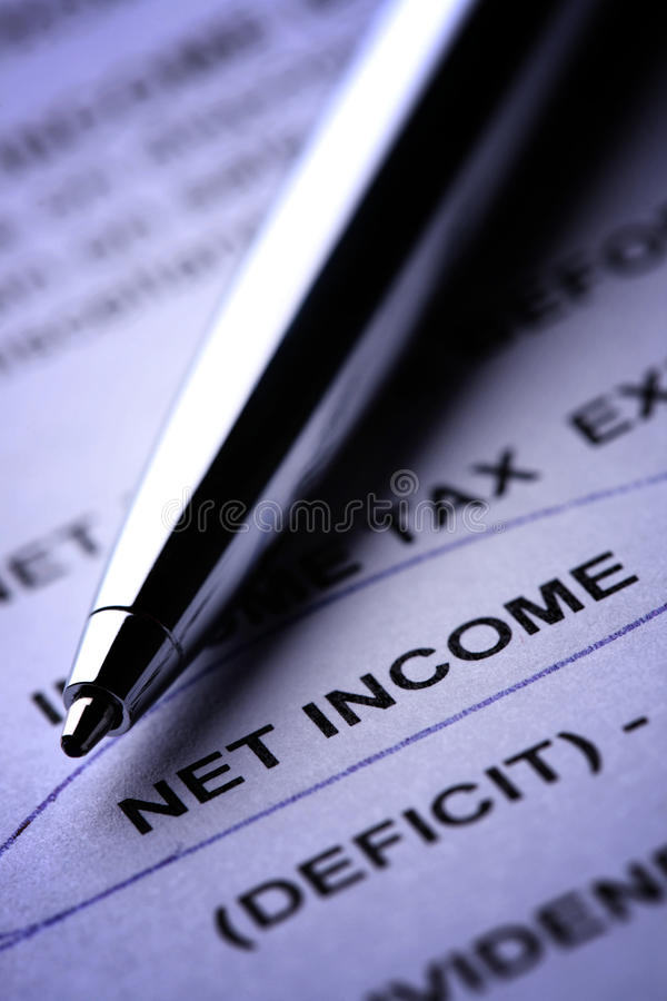 Download Net Income stock image. Image of paperwork, finances - 14302629