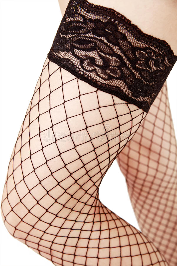 Download Net Stockings Close-up Stock Photo - Image: 12892610