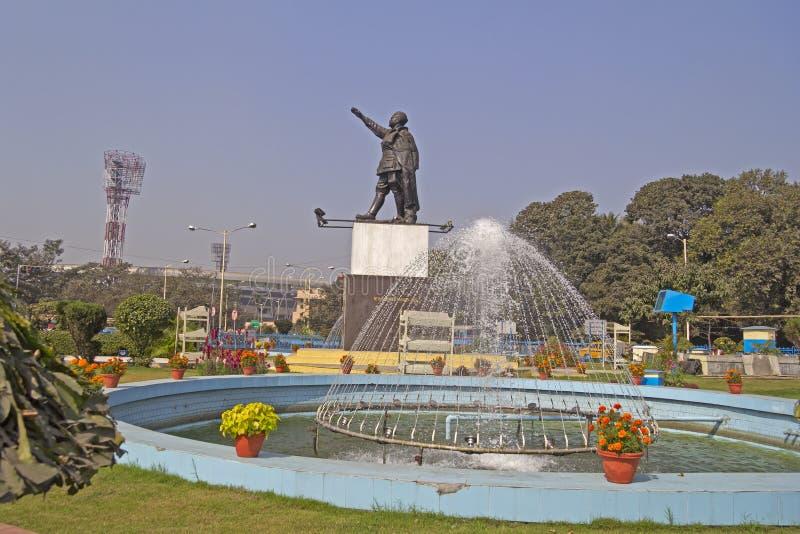 Netaji Subhash Chandra Bose i Netaji stadium obrazy stock