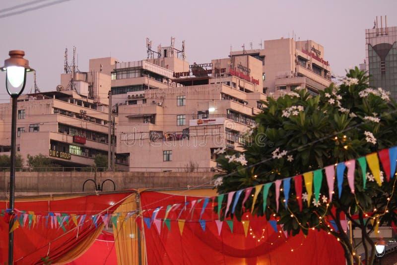 Netaji Subhash Place, New Delhi, India royalty-vrije stock foto's