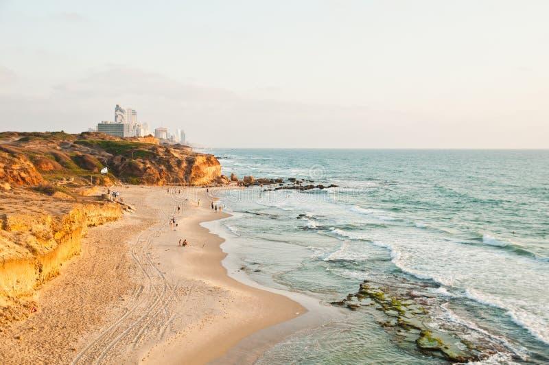 Netanya, Израиль стоковое фото rf