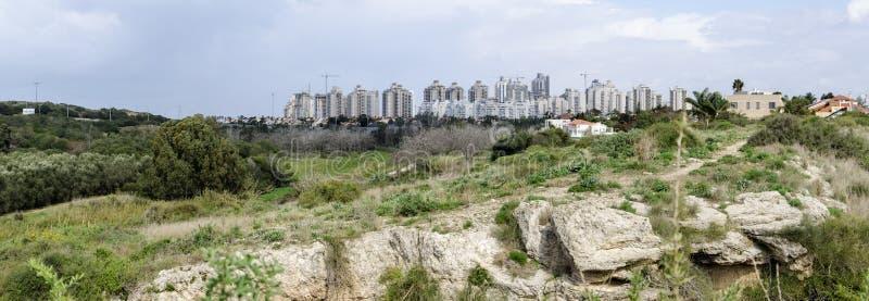 Netanya and Poleg Nature reserve stock images