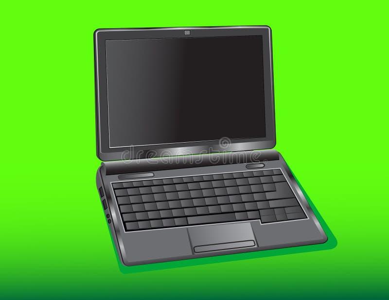 Netbook illustration de vecteur