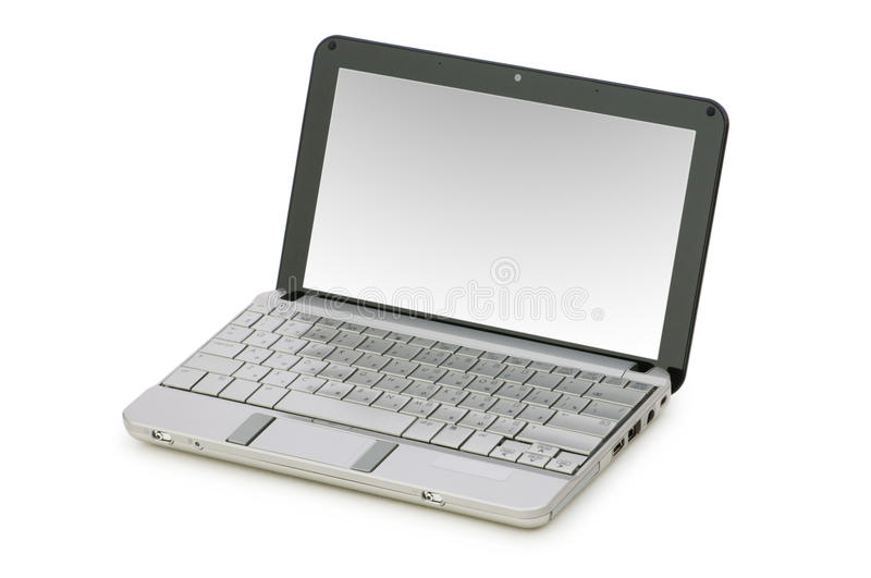 Download Netbook Isolated Royalty Free Stock Photo - Image: 11088755