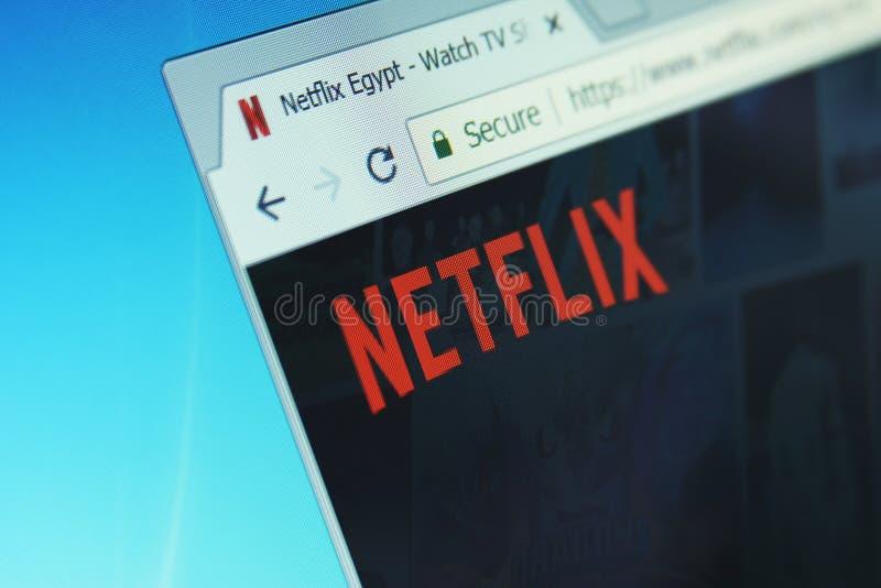 Netflix-Firma lizenzfreies stockbild