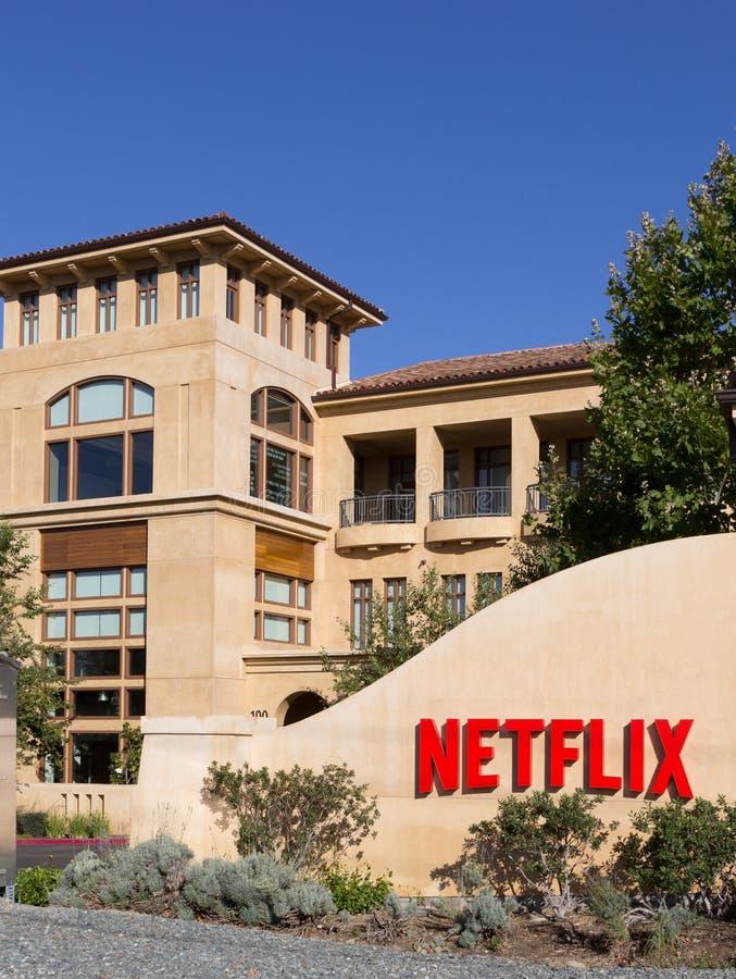 Netflix hat, Los Gatos, Kalifornien USA Hauptsitz stockfotografie