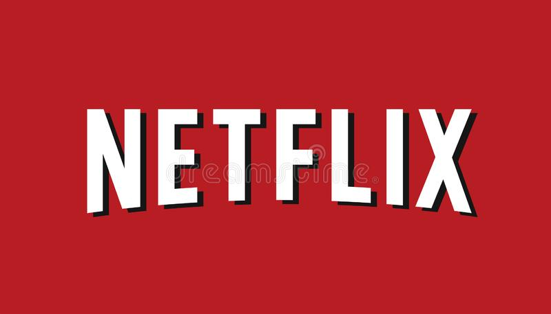 Netflix Logo Editorial Vector illustration de vecteur