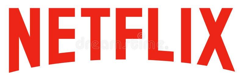 Netflixembleem vector illustratie