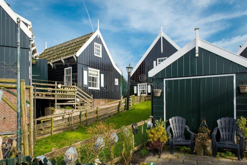 Netherland wioska, Holland, obrazy stock