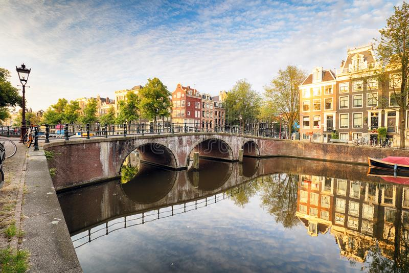 Netherlands, Amsterdam at day. Netherlands, Amsterdam at a day stock photography
