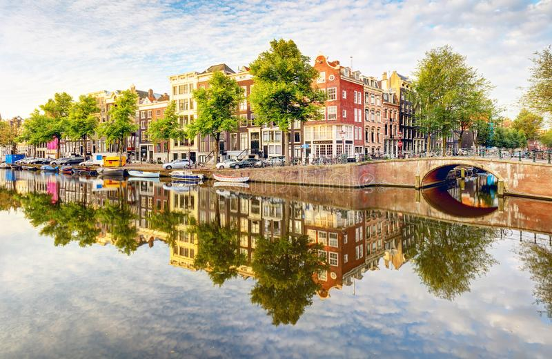 Netherlands, Amsterdam at day. Netherlands, Amsterdam at a day stock photo