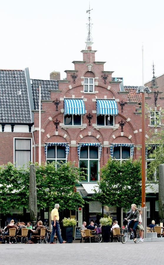 Terrace in the centre stock photos