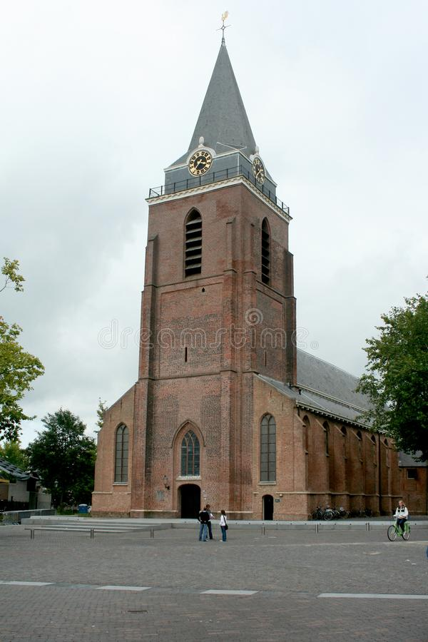 Exterior of the Petrus church royalty free stock photo