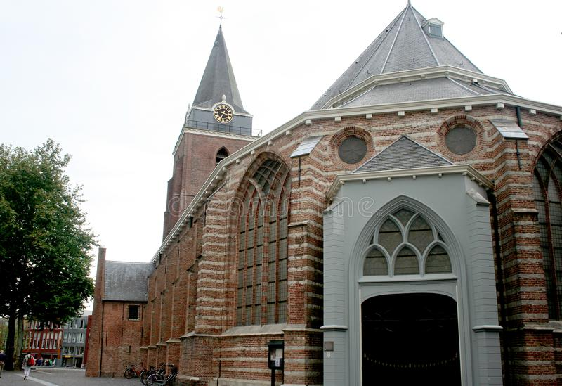 Exterior of the Petrus church stock photography