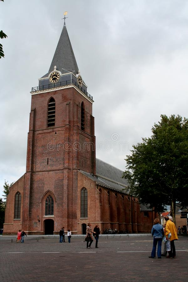 Exterior of the Petrus church stock image