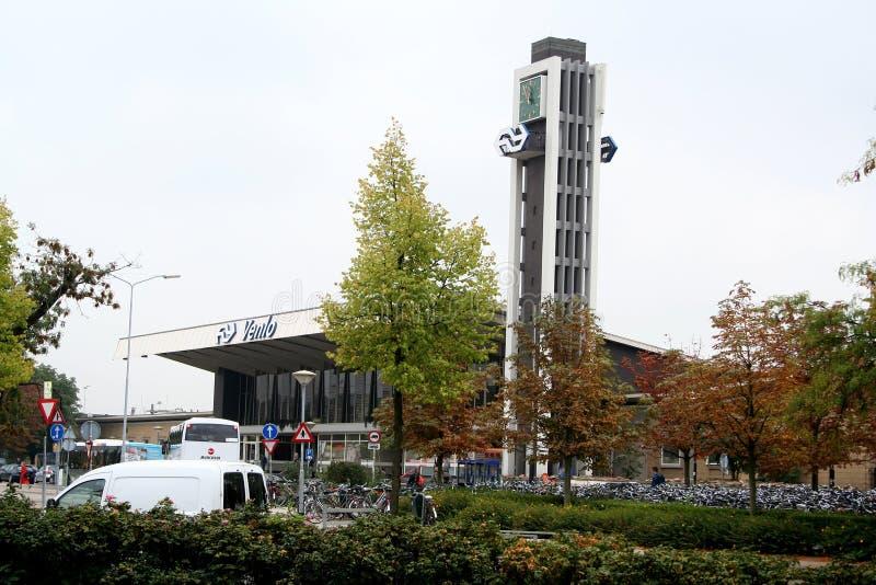 Railway station of Venlo royalty free stock photo