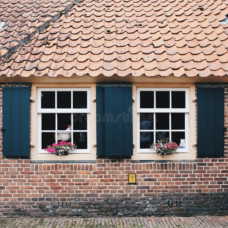 The Netherlands: a house in an old traditional Dutch style stock photos