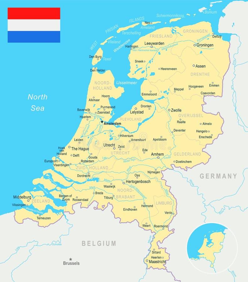 Hague Map Stock Illustrations 98 Hague Map Stock Illustrations
