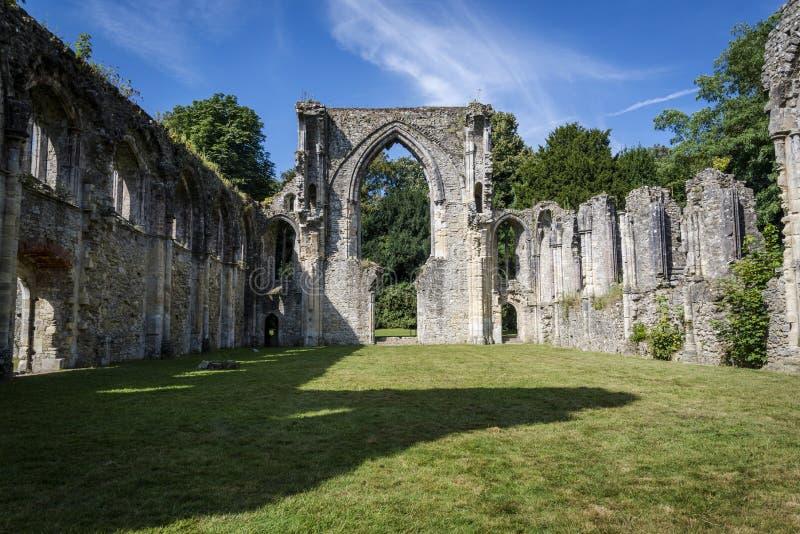 Netley-Abtei, Hampshire, England, Großbritannien lizenzfreie stockfotografie