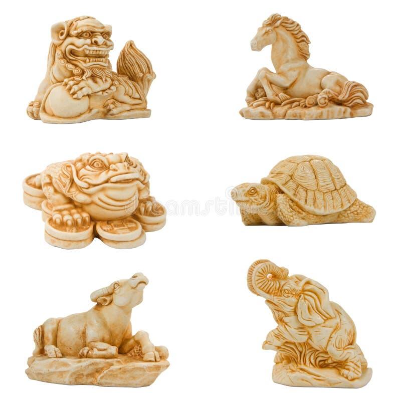 Netsuke oriental imagens de stock royalty free