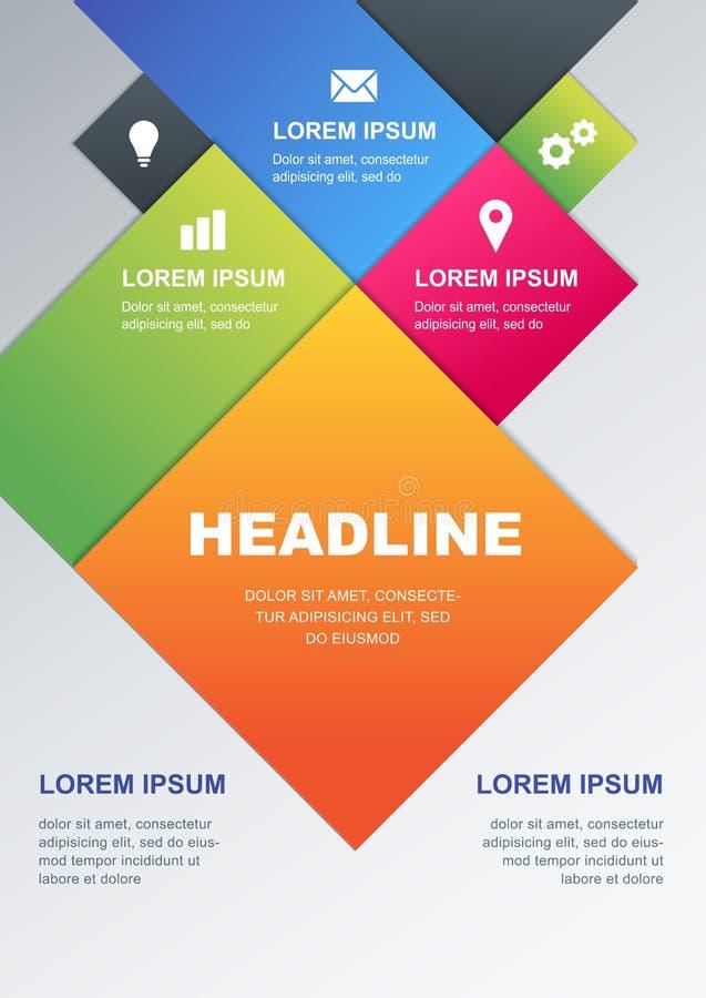 Nett, als Teil Ihrer Auslegung zu verwenden Konzept für Geschäft infographics, broch vektor abbildung