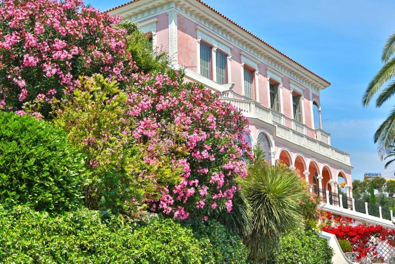 Nett, Frankreich 17. Juni 2014: Villa Ephrussi de Rothschild lizenzfreies stockfoto