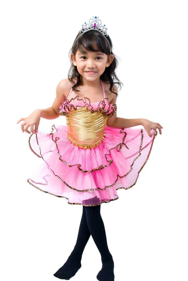Nette kleine Prinzessin lizenzfreie stockbilder