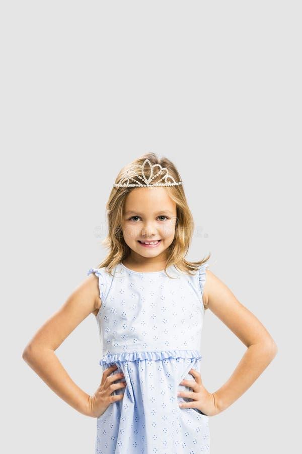 Nette kleine Prinzessin stockfotos