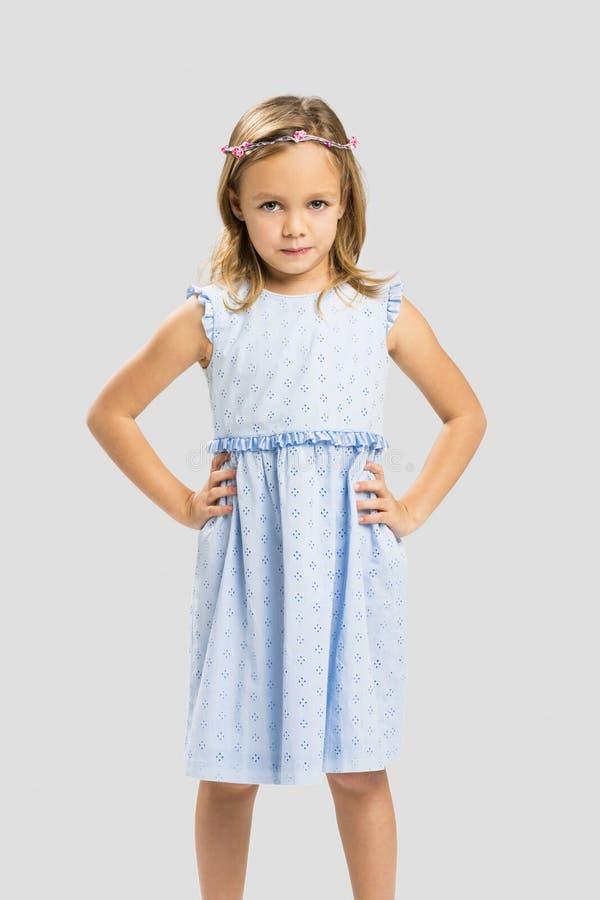 Nette kleine Prinzessin lizenzfreie stockfotos
